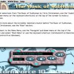 SubHuman Demo CD-ROM - Music Screen (Copyright Michael Ryan and Mark Schultz)