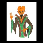 Level Up - Alien Maldark Conspiracy Club Sketch