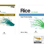 Level Up - Product Packaging - Rice