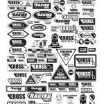 Level Up - eRoss Sticker Sheet (Logos: Simone Gore / Chad Kerychuk)