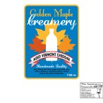 This American Housewife - Golden Maple Creamery Label
