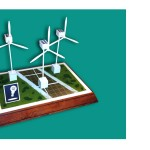 This American Housewife - Wind Turbine Model Prop