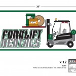 Psych (Season 7) - Cover-up Label - Forklift Rentals