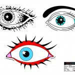 Eye Tattoo (alternate versions) for the television series, 'King & Maxwell (Season 1).'