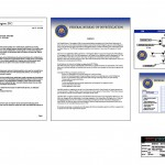 FBI office paperwork for the television series, 'King & Maxwell (Season 1). Official seal logos by Mike Lilley.'