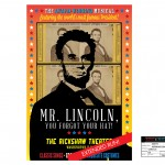 MR. LINCOLN theater poster for the television series, 'King & Maxwell (Season 1).'
