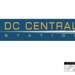 "DC Central Station logo for the television series, ""King & Maxwell (Season 1)."""