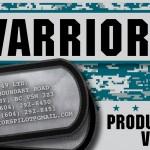 Warriors - Dash Cards