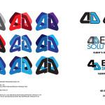 4D Expo Solutions - Logo Re-Design