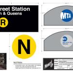 Monkey Up - 23rd Street NY Subway Entrance Signage