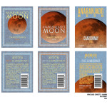 The Grand Unified Theory of Everything - Anaranjado Moon Chardonnay Wine Label