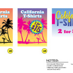 Untitled Beverly Hills 90210 Story - California T-Shirt Sale Signs