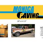 Untitled Beverly Hills 90210 Story - Monica Paving Logo