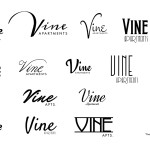Untitled Beverly Hills 90210 Story - Vine Apts. Exterior Sign - Concepts