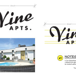 Untitled Beverly Hills 90210 Story - Vine Apts. Exterior Sign
