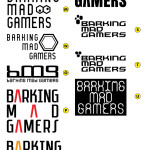 Warriors Gate - Barking Mad Gamers Logo - Concepts_v2p2