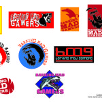 Warriors Gate - Barking Mad Gamers Logo - Concepts