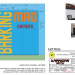 Warriors Gate - Barking Mad Gamers - Glass Door Graphics
